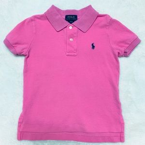 Polo Ralph Lauren 3T Boys Pink Polo Shirt